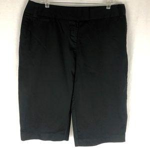 Avenue 16W Bermuda Shorts Black Five Pockets